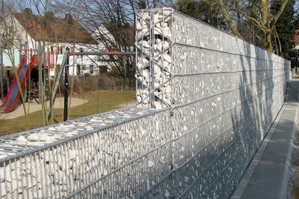 Gabion anti-bruit