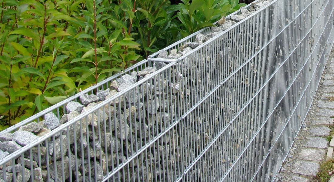 Clôture en gabion - Système de gabions modulaire | TRiooo