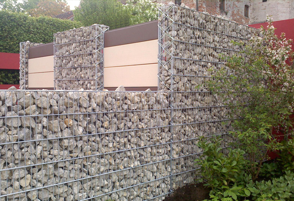 Mur en gabion - Système de gabions modulaire | TRiooo